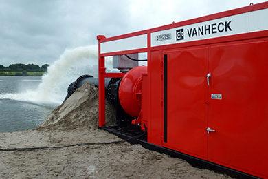 Diesel aangedreven pompsets - Van Heck Group
